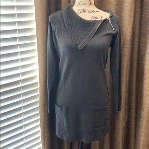 Gray Sweater Tunic, size medium!